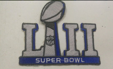 2018 NFL Super Bowl LII Patch