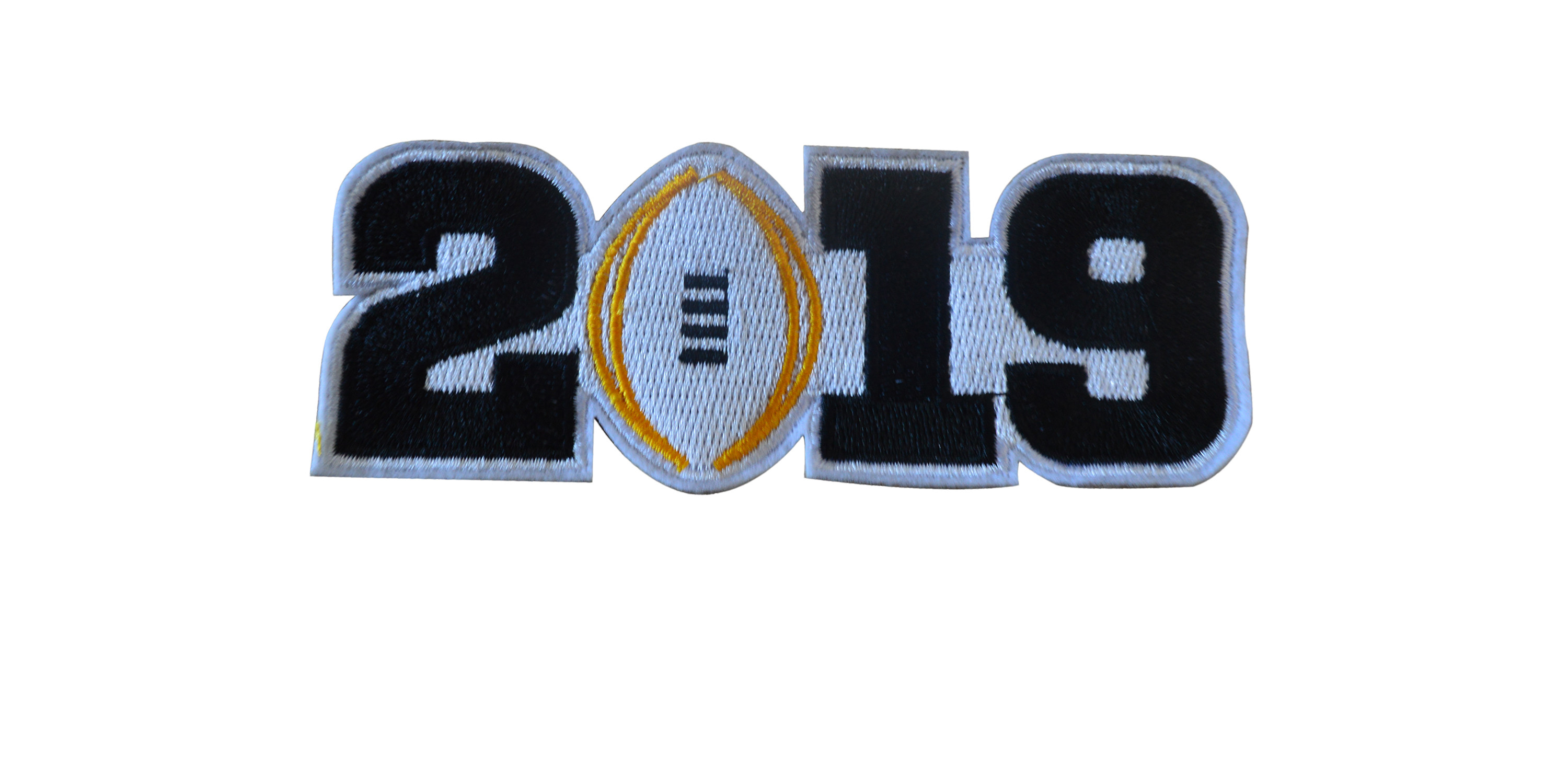 2019 College Football Playoff National Championship Patch Black(Worn By Clemson)