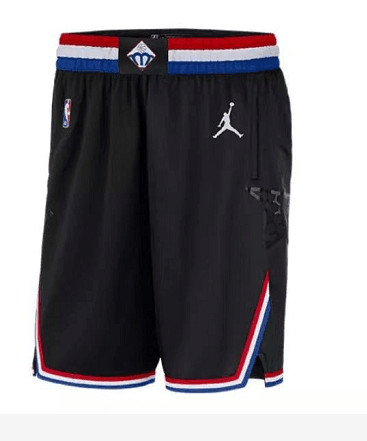 2019 NBA All-Star Black Jordan Brand Swingman Shorts