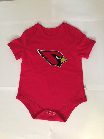 Arizona Cardinals Infant Creeper Set - Red