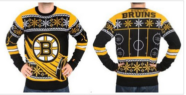 Boston Bruins Men's NHL Ugly Sweater-1