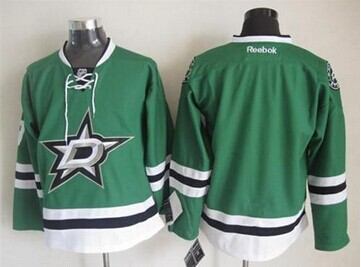 Dallas Stars Blank Green Home Stitched NHL Jersey Size XXL