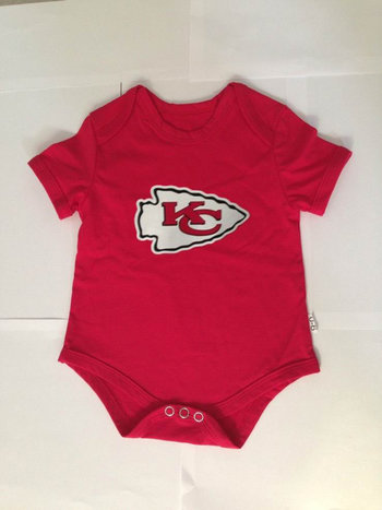 Kansas City Chiefs Infant TD Creeper Set - Red