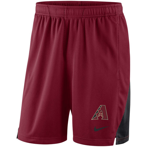 Men's Arizona Diamondbacks Nike Red Franchise Performance Shorts
