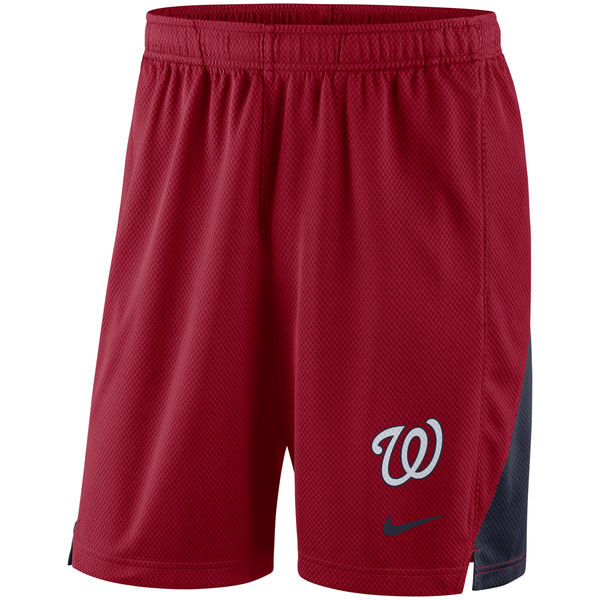 Men's Washington Nationals Nike Red Franchise Performance Shorts