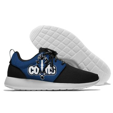Men and women NFL Indianapolis Colts Roshe style Lightweight Running shoes (2)
