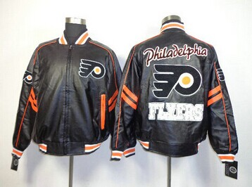 NHL Philadelphia Flyers Leather Jacket