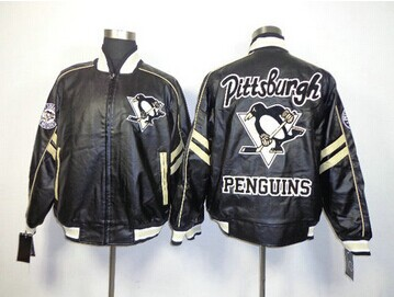 NHL Pittsburgh Penguins Leather Jacket
