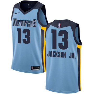 Nike Grizzlies #13 Jaren Jackson Jr. Light Blue NBA Swingman Statement Edition Jersey