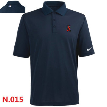 Nike Los Angeles Angels 2014 Players Performance Polo -Dark biue