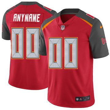 Nike NFL Tampa Bay Buccaneers Vapor Untouchable Customized Limited Red Home Men's Jersey