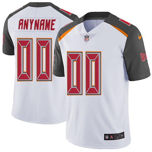 Nike NFL Tampa Bay Buccaneers Vapor Untouchable Customized Limited White Road Men's Jersey