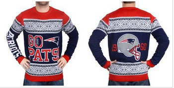 Nike New England Patriots Men's Ugly Sweater_1
