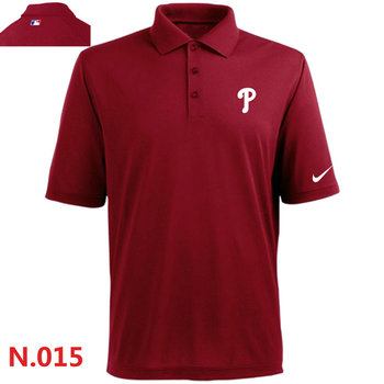 Nike Philadelphia Phillies 2014 Players Performance Polo -Red 2