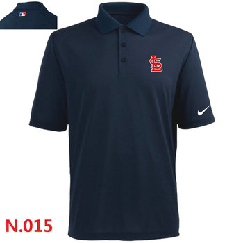 Nike St.Louis Cardinals 2014 Players Performance Polo -Dark biue