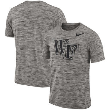 Nike Wake Forest Demon Deacons 2018 Player Travel Legend Performance T Shirt
