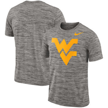 Nike West Virginia Mountaineers 2018 Player Travel Legend Performance T Shirt