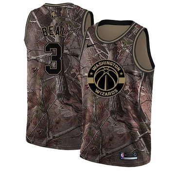 Nike Wizards #3 Bradley Beal Camo Youth NBA Swingman Realtree Collection Jersey