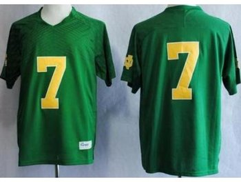 Notre Dame Fighting Irish 7 Stephon Tuitt Green Techfit NCAA Jerseys