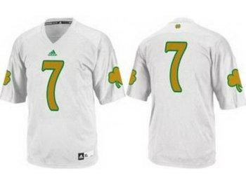 Notre Dame Fighting Irish 7 Stephon Tuitt White Techfit College Football NCAA Jerseys