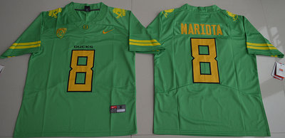 Oregon Ducks 8 Marcus Mariota Green Nike College Jersey
