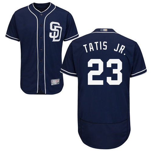 Padres #23 Fernando Tatis Jr. Navy Blue Flexbase Authentic Collection Stitched Baseball Jersey
