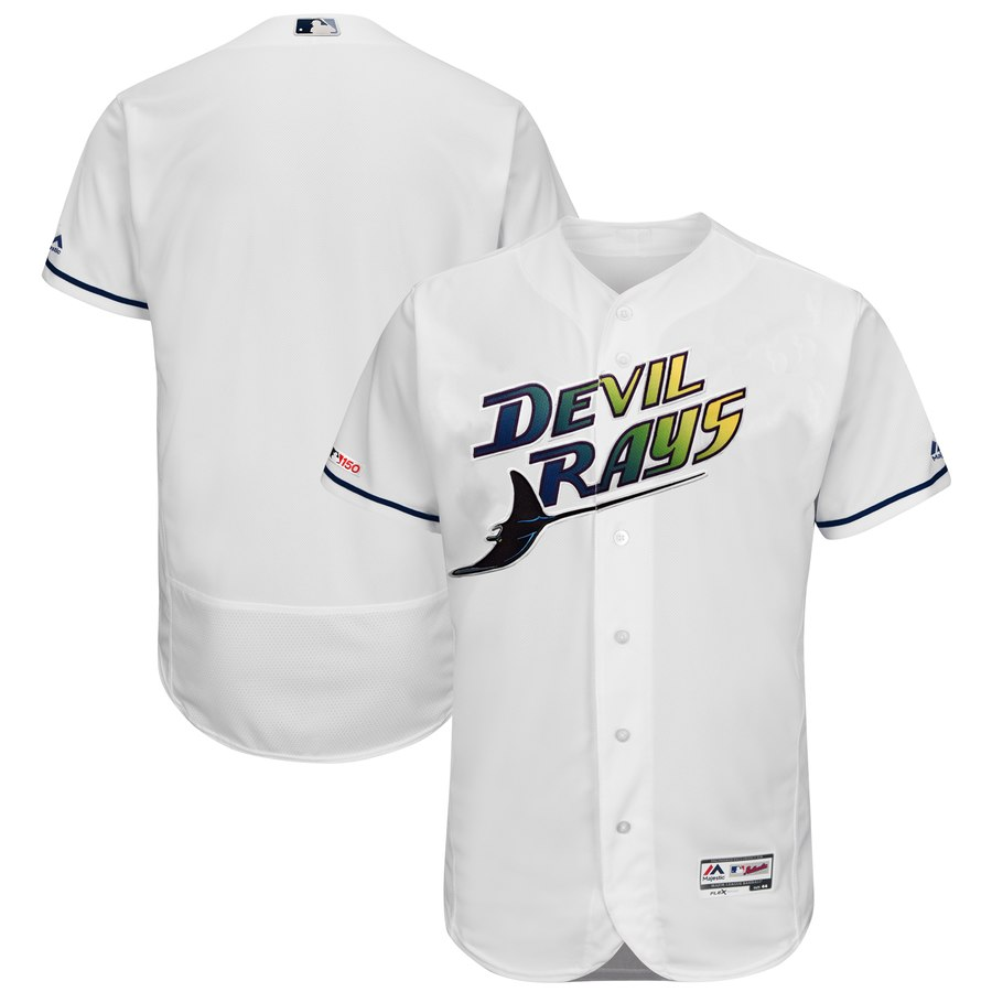 Rays Blank Turn Back The Clock 150th FlexBase Jersey