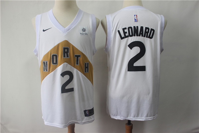 Spurs 2 Kawhi Leonard White City Edition Nike Swingman Jersey