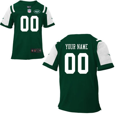 Toddlers Nike New York Jets Infant Customized Game Team Color Jersey