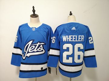 Winnipeg Jets 26 Blake Wheeler Blue Alternate Adidas Jersey
