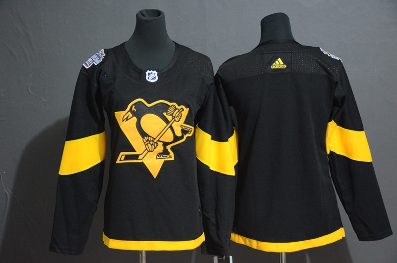 Women Penguins Blank Women 2019 NHL Stadium Series Adidas Jersey