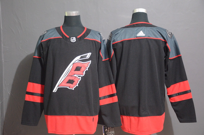 Youth Hurricanes Blank Black Youth Adidas Jersey