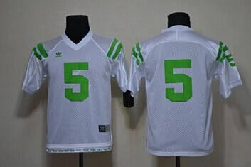Youth NCAA Fighting Irish #5 Everett Golson White Under The Lights Jersey