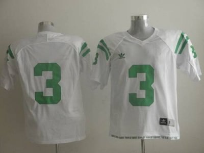dame #3 joe montana white embroidered ncaa jersey
