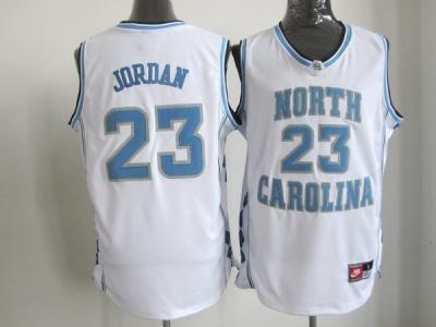 nba north carolina #23 jordan white jerseys